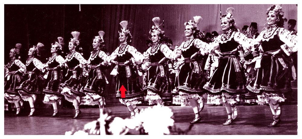 MAria as a Dancer